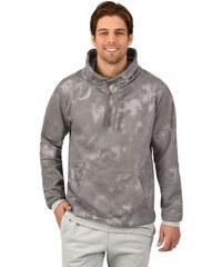 TRIGEMA TRIGEMA Sweatshirt Batik-Muster grau L,M,S,XL,XS,XXL