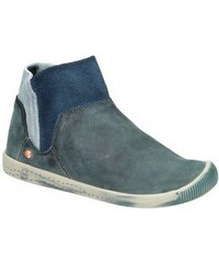 SOFTINOS softinos klassische Stiefelette IME335SOF washed leather blau 36,37,38,39,40,41,42