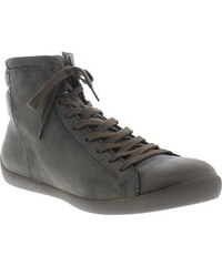softinos klassische Stiefelette NITA323SOF washed leather SOFTINOS grün 35,36,37,38,39,40,41,42