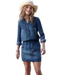 RED LABEL Junior Jeanskleid in leichter Denim-Qualität für Mädchen S.OLIVER RED LABEL JUNIOR blau 128,134,140,146,152,158,164,170,176
