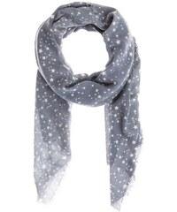 Damen Woll-Schal mit Web-Muster CODELLO grau