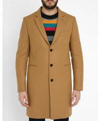 PAUL SMITH PS Kamelbrauner Wollmantel Tailored