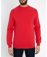 PAUL SMITH PS Raglanpullover aus Wolle in Fuchsia