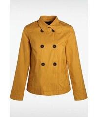 Manteau femme court Jaune Coton - Femme Taille L - Bonobo