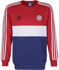 adidas Bayern Crew sweat red/collegiate royal