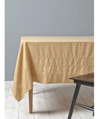 Cyrillus Nappe en lin mélangé - jaune
