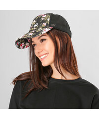 Lesara Snapback-Cap mit Blumenprint