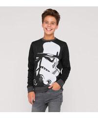 C&A Star Wars Sweatshirt in Schwarz / weiß