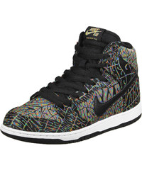 Nike Sb Dunk High Premium Sneaker black/rainbow