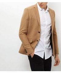New Look Beiger, strukturierter Blazer