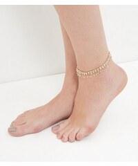 New Look Perlenbesetztes Fußkettchen in Rosa