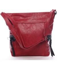 Trendová kabelka přes rameno Kendal, červená