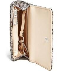 Guess peněženka Delaney Python-Embossed Mini