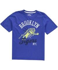 Tričko Giorgio Crew Tiger dět. královská modrá