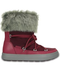 Crocs LodgePoint Lace Boot Nylon Pomegranate
