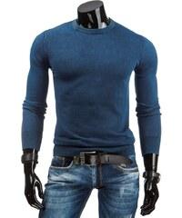 Jednoduchý moderní tmavě modrý svetr