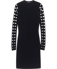 VERSUS VERSACE by ANTHONY VACCARELLO Cut Out Sleeve Black