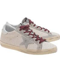 GOLDEN GOOSE Sneakers Superstar White Glitter