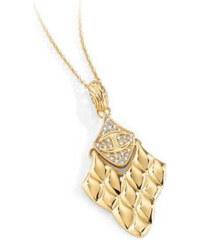 Just Cavalli Pozlacený náhrdelník Just Pin SCAHF01