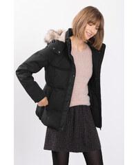 Esprit Péřová bunda + plyšová podšívka v kapuci