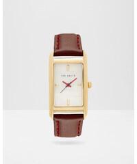 Ted Baker Uhr mit Perlmutt-Zifferblatt Ochsenblut