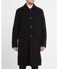 OUR LEGACY Schwarzer Mantel Car Soft Wool