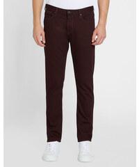 ARMANI JEANS Bordeauxrote Slim-Jeans J06 aus Stretch-Stoff