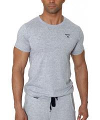 BOXHAUS Brand Incept basic Shirt grey htr