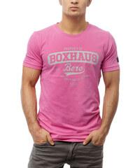 BOXHAUS Brand Nate T-Shirt rasby red