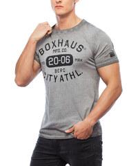 BOXHAUS Brand Stone T-Shirt raven