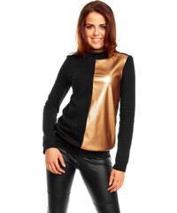 Nommo Černo-zlaté tričko NA55