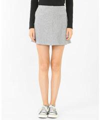 Jupe trapèze gris, Femme, Taille L -PIMKIE- MODE FEMME