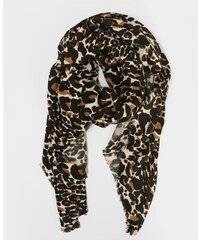 Pimkie Dünner Schal mit Leoparden-Print