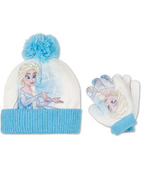 C&A Die Eiskönigin Mütze und Handschuhe in multicolour print