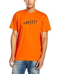 Shirtzshop Erwachsene T-Shirt Original Imker Honigmann Bienenzüchter Evolution