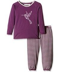 Minymo Mädchen Zweiteiliger Schlafanzug Chen 68 -Pyjamas -Striped Pant