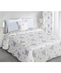 Přehoz na postel JULIAN 220x240 cm bílá Mybesthome