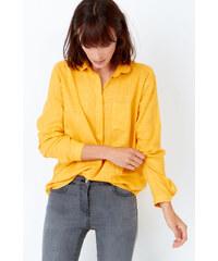 Chemise à carreaux fins et dorés Etam