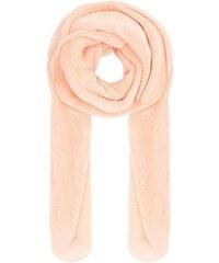 New Look Langer, plissierter Schal in Rosa