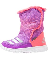 adidas Performance LUMILUMI Snowboot / Winterstiefel shock purple/silver metallic/flash red