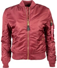 Alpha Industries MA-1 VF PM Wmn Bomber Bunda Burgundy