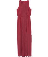 MANGO Kleid Mit Plissiertem Einsatz