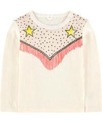 Stella McCartney Kids T-Shirt mit Trompe-l'oeil-Effekt aus Bio-Baumwolle