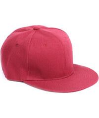 Lesara Snapback-Cap im Unifarbdesign - Rot