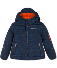 C&A Softsjacke mit Kapuze in Blau / Schwarz