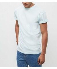 New Look Mintgrünes T-Shirt mit umgeschlagenen Ärmeln