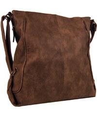 Velká hnědá crossbody kabelka Tapple 1227-2