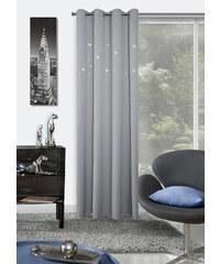 Dekorační závěs GIACOMO světle šedá 140x250 cm MyBestHome Varianta: závěs - 1 kus 140x250 cm
