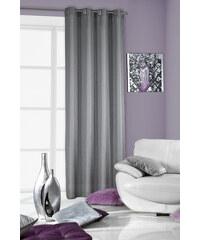 Dekorační závěs ALONSO stříbrná 140x250 cm MyBestHome Varianta: závěs - 1 kus 140x250 cm
