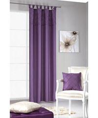 Dekorační závěs ANGELO fialová 140x250 cm MyBestHome Varianta: závěs - 1 kus 140x250 cm